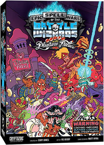 Picture of Epic Spell Wars of the Battle Wizards: 4 - Panic at the Pleasure Palace (stand alone or expansion)