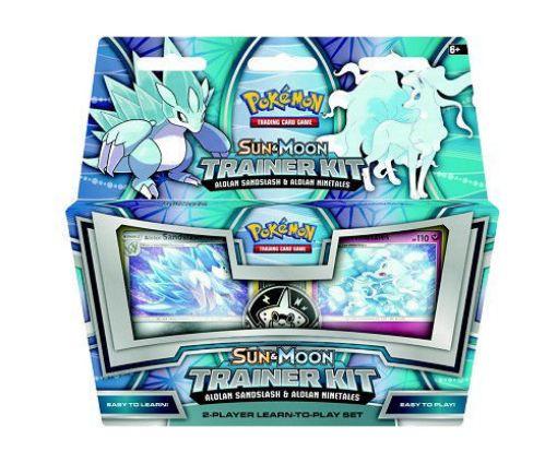 Picture of Pokémon: Sun & Moon Trainer Kit - Alolan Sandslash & Alolan Ninetales