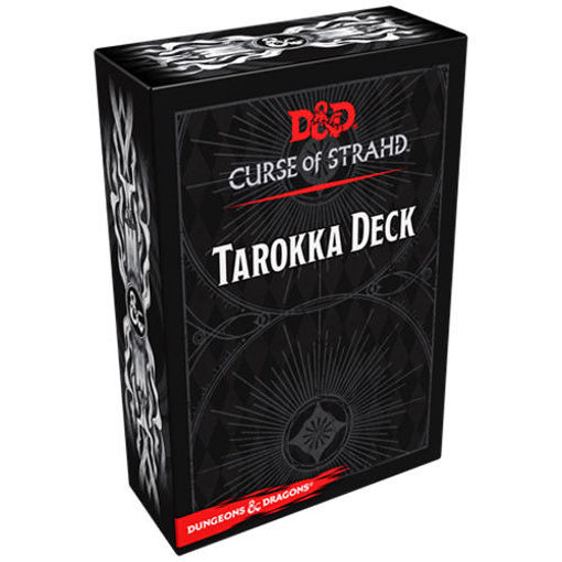 Picture of Dungeons and Dragons RPG: Curse of Strahd - Tarokka Deck (54 cards)