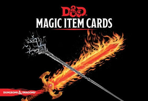 Picture of Dungeons and Dragons RPG: Magic Item Cards Deck (292 cards)