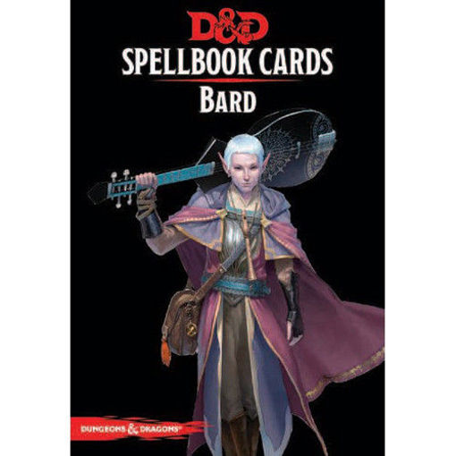 Picture of Dungeons and Dragons RPG: Spellbook Cards - Bard Deck (128 cards)