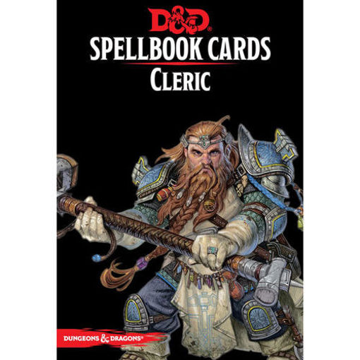 Picture of Dungeons and Dragons RPG: Spellbook Cards - Cleric Deck (149 cards)