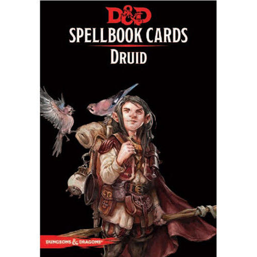 Picture of Dungeons and Dragons RPG: Spellbook Cards - Druid Deck (131 cards)