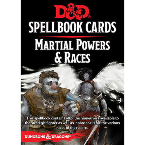 Picture of Dungeons and Dragons RPG: Spellbook Cards - Martial Deck (61 cards)