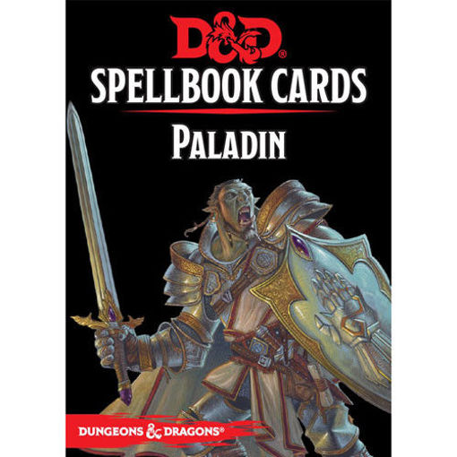 Picture of Dungeons and Dragons RPG: Spellbook Cards - Paladin Deck (69 cards)