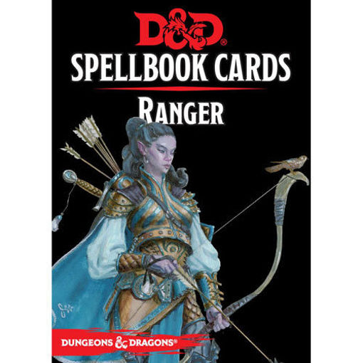 Picture of Dungeons and Dragons RPG: Spellbook Cards - Ranger Deck (46 cards)