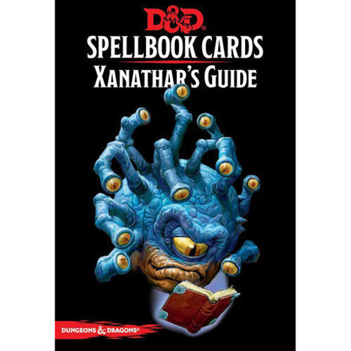 Picture of Dungeons and Dragons RPG: Spellbook Cards - Xanathar`s Guide Deck (95 cards)