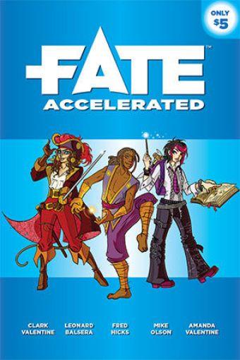Picture of Fate Core RPG: Fate Accelerated