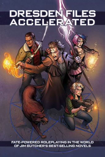 Picture of Fate Core RPG: The Dresden Files Accelerated Hardcover