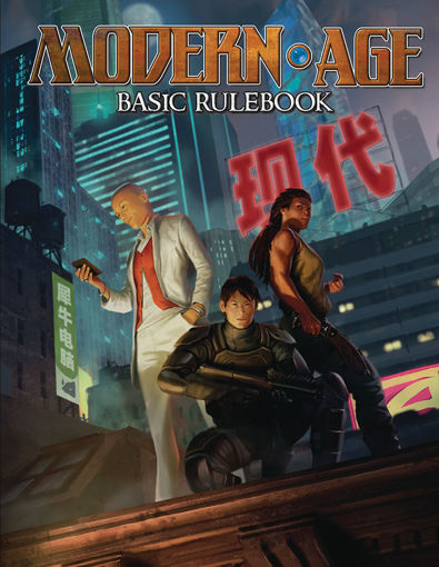 Picture of Modern AGE RPG: Basic Rulebook