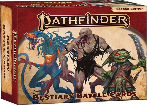 Picture of Pathfinder 2E: Bestiary Battle Cards