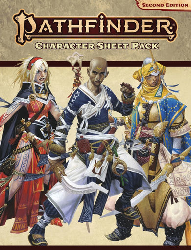 Picture of Pathfinder 2E: Character Sheet Pack
