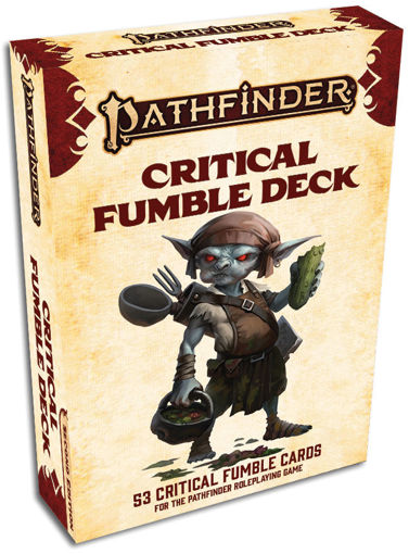 Picture of Pathfinder 2E: Critical Fumble Deck