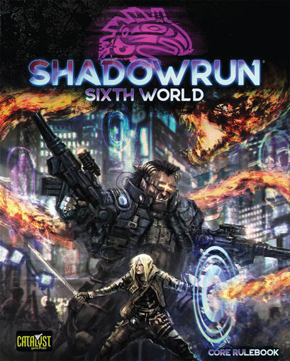 Picture of Shadowrun 6E: Core Rulebook