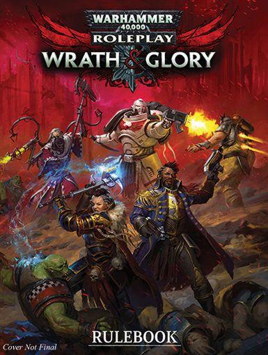 Picture of Warhammer 40K Wrath & Glory RPG: Core Rulebook