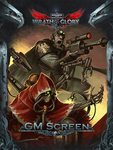Picture of Warhammer 40K Wrath & Glory RPG: GM Screen