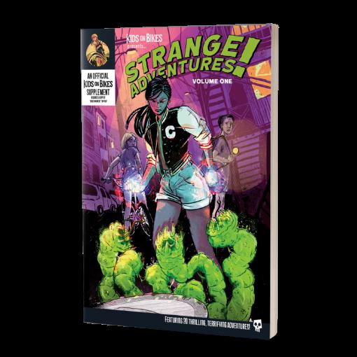 Picture of Kids on Bikes RPG: Strange Adventures Vol. 1