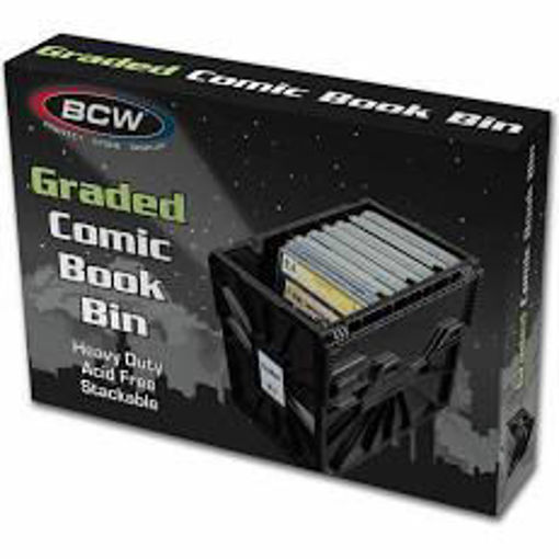 Picture of BCW Heavy Duty Plastic Graded Comic Book Bin