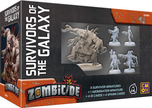 Picture of Zombicide: Invader - Survivors of the Galaxy Box Set