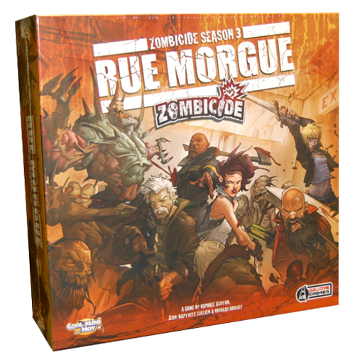 Picture of Zombicide: Season 3 - Rue Morgue