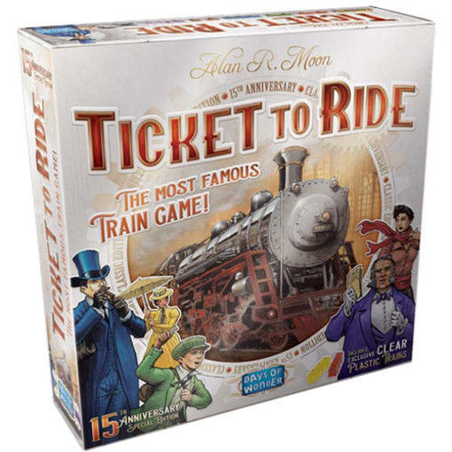 Picture of Ticket To Ride: 15th Anniversary Edition