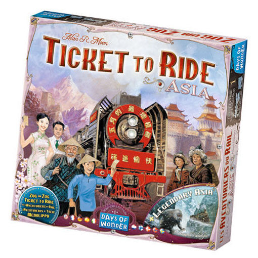 Picture of Ticket To Ride: Asia