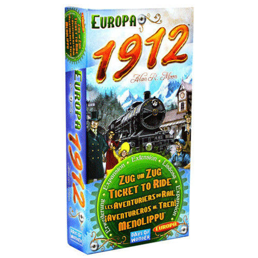 Picture of Ticket To Ride: Europa 1912 Expansion