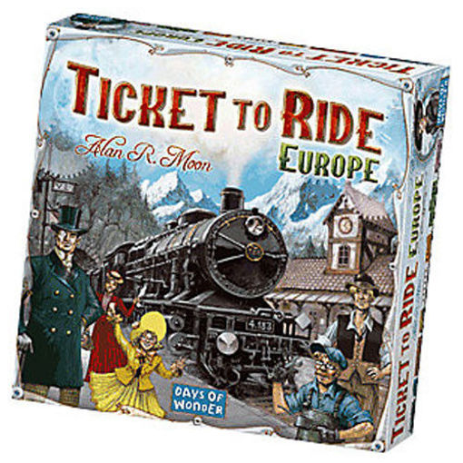 Picture of Ticket To Ride: Europe