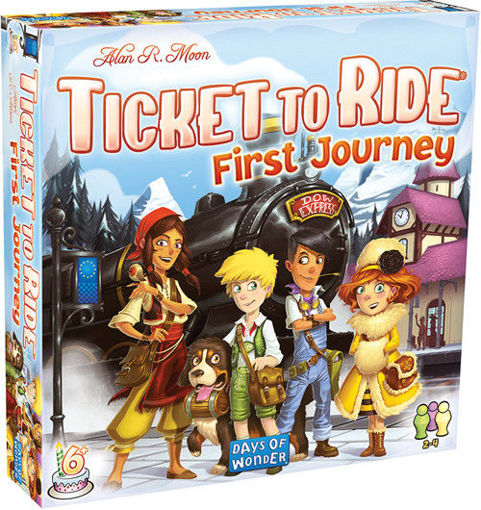 Picture of Ticket to Ride: First Journey - Europe