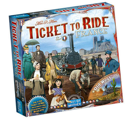 Picture of Ticket To Ride: France and Old West