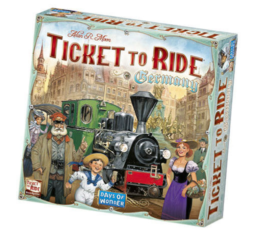 Picture of Ticket to Ride: Germany