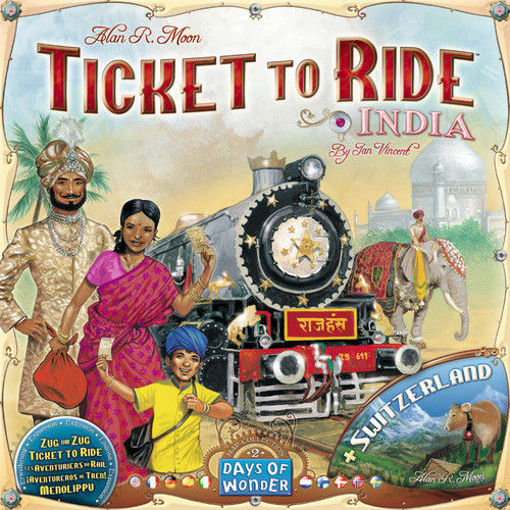 Picture of Ticket To Ride: India