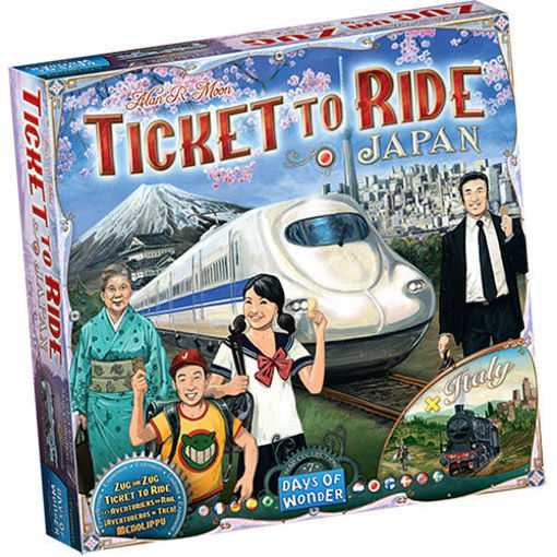 Picture of Ticket To Ride: Japan and Italy