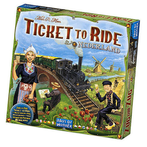 Picture of Ticket to Ride: Nederland