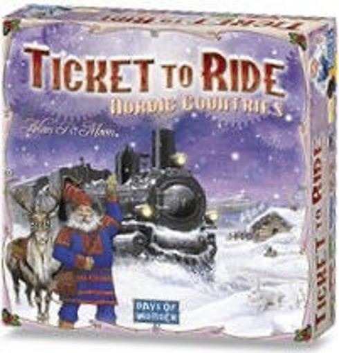 Picture of Ticket To Ride: Nordic Countries