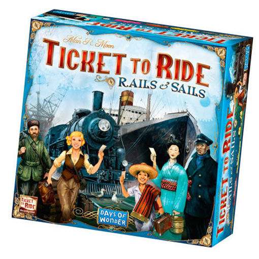 Picture of Ticket to Ride: Rails and Sails