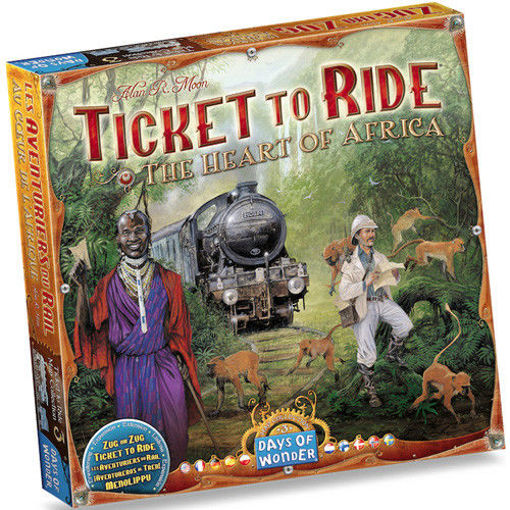 Picture of Ticket To Ride: The Heart of Africa