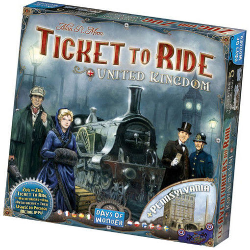 Picture of Ticket To Ride: United Kingdom and Pennsylvania