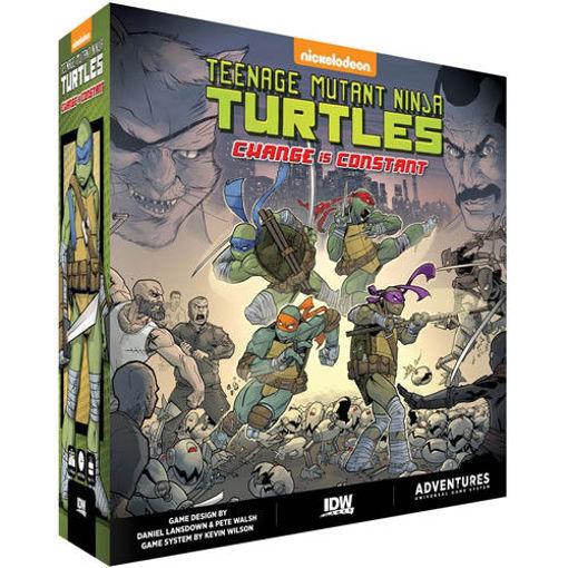 Picture of Tmnt Adventures Change Is Cons