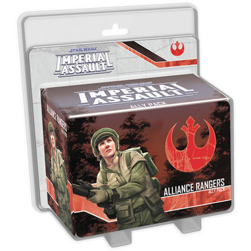 Picture of Star Wars Imperial Assault: Alliance Rangers Ally Pack