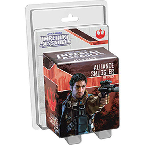 Picture of Star Wars Imperial Assault: Alliance Smuggler Ally Pack