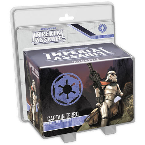 Picture of Star Wars Imperial Assault: Captain Terro Villain Pack
