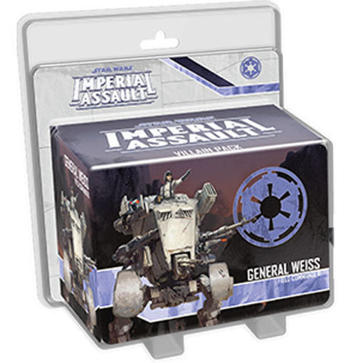 Picture of Star Wars Imperial Assault: General Weiss Villain Pack