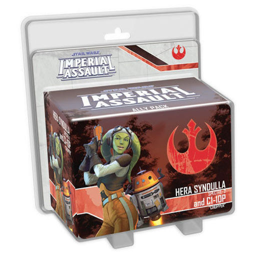 Picture of Star Wars Imperial Assault: Hera Syndulla and C1-10P Ally Pack