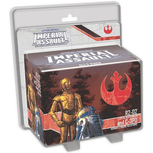 Picture of Star Wars Imperial Assault: R2-D2 and C-3PO Ally Pack