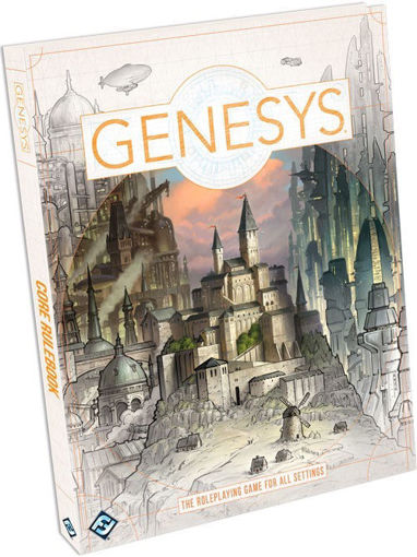 Picture of Genesys RPG: Core Rulebook Hardcover