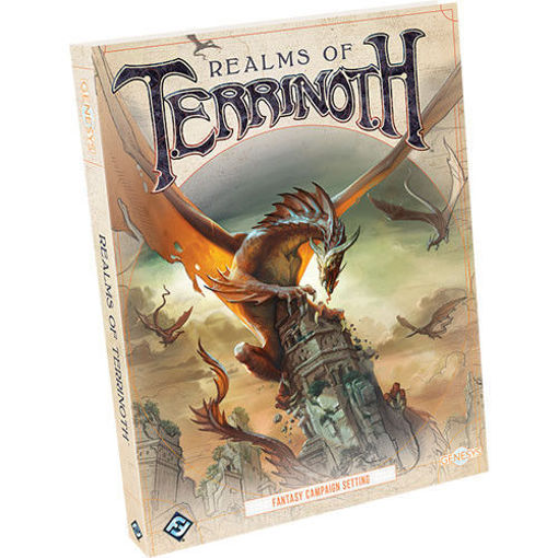 Picture of Genesys RPG: Realms of Terrinoth Hardcover