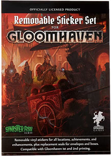 Picture of Gloomhaven Removable Stickers Set