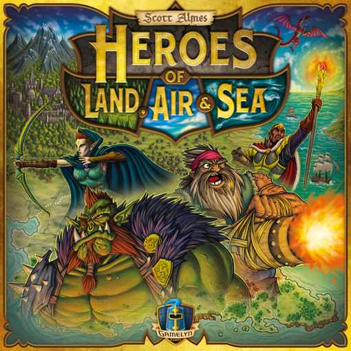 Picture of Heroes of Land, Air & Sea