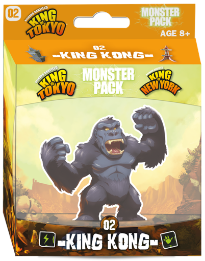 Picture of King of Tokyo: New York King Kong Monster Pack